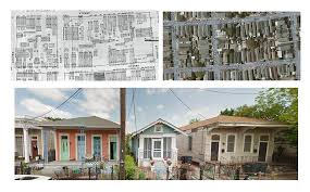 Google Map New Orleans by Typology 1 Shotgun Housing U2013 Design Primer