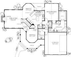 country style house plan 4 beds 2 50 baths 2202 sq ft plan 80 125