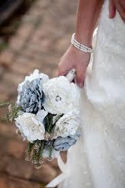 Make Your Own Paper Flowers - diy wedding bouquet paper bridal flower tutorial