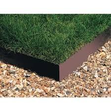 everedge revolutionary flexible galvanized steel garden edging