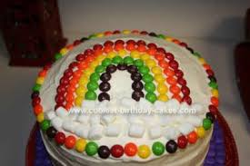 coolest rainbow birthday cake