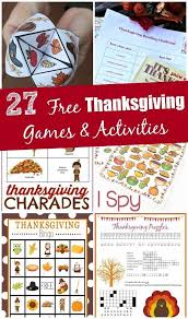 Fun Activities For Thanksgiving 17 Best Images About Thanksgiving Ideas On Pinterest
