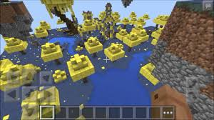 Mpce Maps 0 14 1 Floating Island In The Sky Aether Map Mcpe Map Review