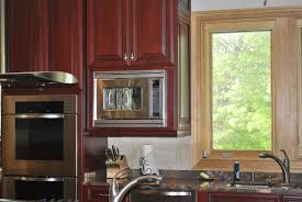 Microwave In Kitchen Cabinet by Custom Kitchen Cabinets Wilmington Nc Custom Cabinets Wilmington