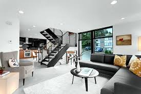 Home Design In Inside The Modern Steel Staircase Inside And Outside In The Amazing