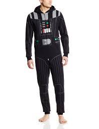 Serre Livre Geek Darth Vader Star Wars Men U0027s Onesie One Piece Pajamas Cosplay