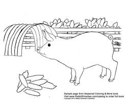nature scene coloring pages seasonal country coloring and more u2013 rabbit smarties creative