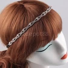 elastic headband vintage elastic headband headpiece girl prom hair