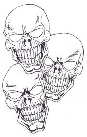 cool skull designs to draw 116439 scarseze info