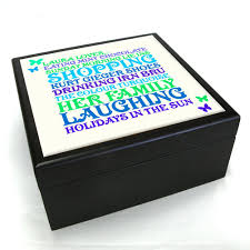 personalised jewelry box personalised word jewellery box treat republic