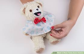 teddy clothes 5 easy ways to make teddy bears clothes with pictures