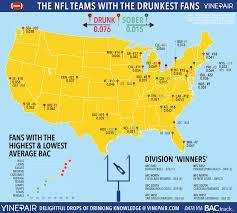 Nfl Tv Schedule Map Bills Fans Ranked U0027most Drunk U0027 According To Bac Graphic Nfl