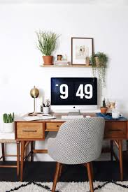 retro home office desk top 10 beautiful home office ideas retro plants and woods