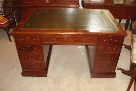 fine quality victorian mahogany partners desk by t willson