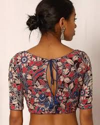 30 timeless kalamkari blouse patterns that you will