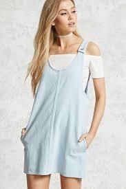 denim overall dress forever 21 2000055261