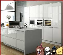 Glossy Kitchen Cabinets White Lacquer Kitchen Cabinets
