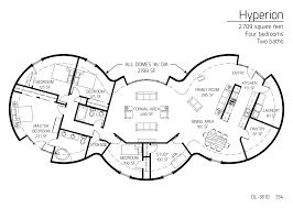 floor plan dl 3610 monolithic dome institute