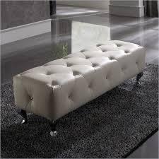 perfect white tufted ottoman 25 white leather ottomans square