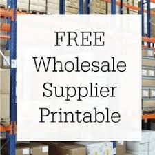 directory of wholesale suppliers products any category type of