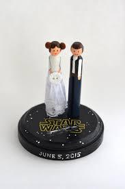 wars wedding cake topper in a galaxy far far away wars themed wedding cake topper