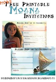45 moana images party printables birthday