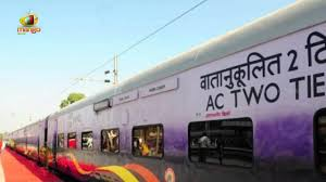 first look of make in india luxury railway coaches led lights