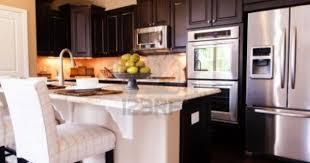 Hardwood Cabinets Kitchen by Dark Wood Modern Kitchen Cabinetsmodern Kitchen With Dark Wood