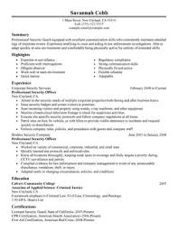 Security Resume Sample by Impactful Professional Law Enforcement U0026 Security Resume Examples