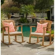 Patio Furniture Rocking Chair Patio Rocking Chairs Gliders You Ll Wayfair