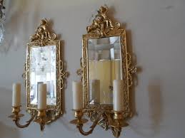 Mirrored Wall Sconce Wall Sconce