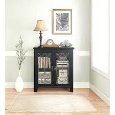accent cabinet with glass doors accent storage cabinet with glass doors end table door elegant