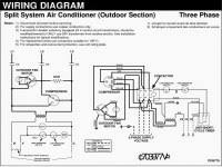 wiring diagrams hvac compressor wiring window ac thermostat