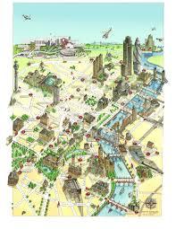 London Maps Katherine Baxter Illustrated Maps London