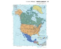 North America Country Map by Maps Of North America And North American Countries Political