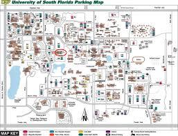 Usf Map Parking Jpg