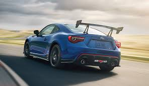 brz toyota 2018 subaru brz ts revealed with suspension aero upgrades