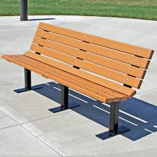 Outside Benches For Schools Bench Recycled Plastic Bench Mplas Bench In Recycled Plastic