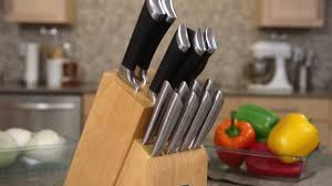 chicago cutlery fusion block set youtube