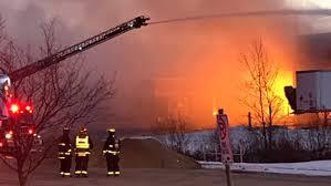 Brantford fire industrial Mississauga Metals