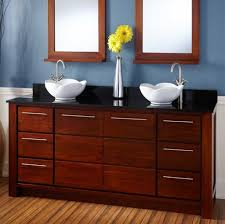 bathroom fascinating double sink vanity also frameless mirror and
