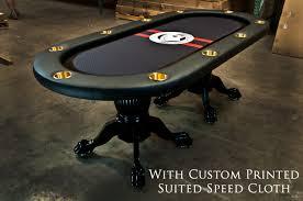poker table speed cloth the elite custom poker table