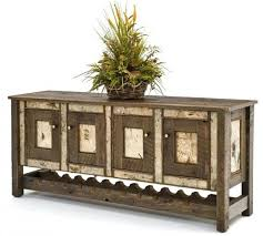 Reclaimed Wood Buffet Table by Wine Rack Wooden Sideboards With Wine Racks Kings Brand Wr1242