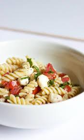 What Is Pasta Salad Caprese Pasta Salad V 918 Plate