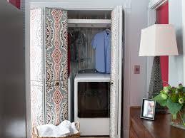 living room closet laundry room closet makeover hgtv