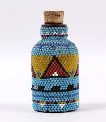92 best beaded u0026 antique bottles and decorated glass ideas images