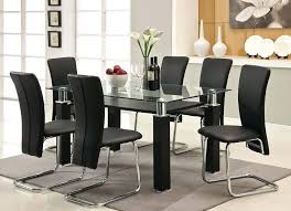 black dining table with leaf black kitchen dining sets round washed 5 piece set by small black