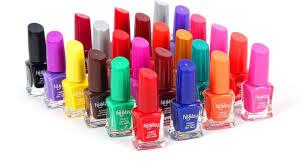 foolzy 24 different nail polish orange black green dark green