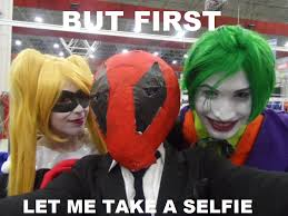 Cosplay Meme - but first let me take a selfie cosplay meme by brandonale on