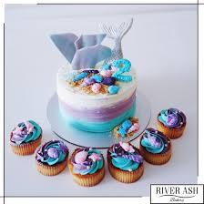 mermaid cupcakes mermaid cake cupcakes singapore the sea theme cakes sg